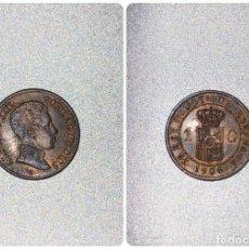 Monedas de España: MONEDA. ESPAÑA. ALFONSO XIII. 1 CENTIMO. 1906. S.L.V. S/C. VER FOTOS. Lote 196588916