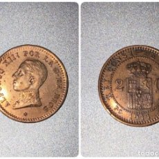 Monedas de España: MONEDA. ESPAÑA 2 CENTIMOS. 1911. PCV. S/C. ESTRELLA *11*. VER FOTOS. Lote 196863352