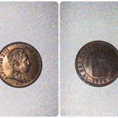 Monedas de España: MONEDA. ESPAÑA 1 CENTIMO. 1906. SLV. S/C. ESTRELLA *6*. VER FOTOS. Lote 196865370