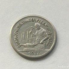 Monete da Spagna: MONEDA CONSEJO DE SANTANDER PALENCIA BURGOS - 1937 - 50 CÉNTIMOS - BUEN ESTADO ÚLTIMA EN STOCK. Lote 197182361