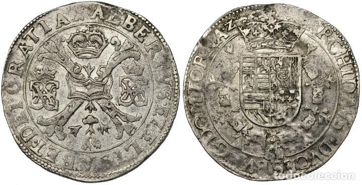 PATAGÓN. S/F. TOURNAI. VANHOUDT-619.TO. EBC+. MUY RARO EN ESTE ESTADO (Numismática - España Modernas y Contemporáneas - De Reyes Católicos (1.474) a Fernando VII (1.833))