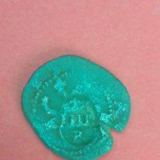 Monedas de España: FELIPE II. 2 CUARTOS, RESELLADOS PARA 4 MARAVEDÍS. BURGOS.. Lote 197270932