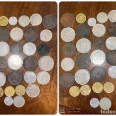 Monedas de España: LOTE DE 33 MONEDAS DE ESPAÑA. DESDE EL AÑO 1878 AL 1984. VER FOTOS.. Lote 197288527