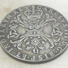 Moedas de Espanha: RÉPLICA MONEDA 1710. 1 PATAGÓN. ESPAÑA. REY CARLOS III, PAÍSES BAJOS, FLANDES. Lote 197930393