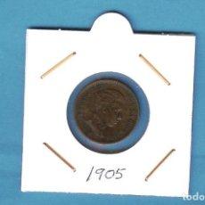 Monedas de España: ESPAÑA: 2 CÉNTIMO 1905. ALFONSO XIII. Lote 198066208