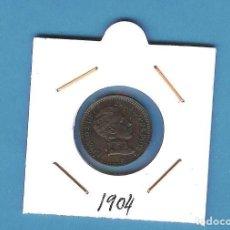 Monedas de España: ESPAÑA: 2 CÉNTIMOS 1904. ALFONSO XIII. Lote 198066392