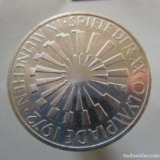 Moedas de Espanha: ALEMANIA . 10 MARCOS DE PLATA DEL AÑO 1972 . TOTALMENTE SIN CIRCULAR. Lote 225131770
