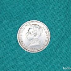 Monedas de España: ESPAÑA 50 CENTIMOS ALFONSO XIII 1904* 1-0 MBC+ RE; 3093 PLATA. Lote 198640496