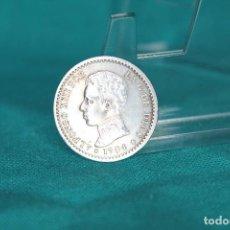 Monedas de España: ESPAÑA 50 CENTIMOS ALFONSO XIII 1904* 1-0 MBC RE; 3092 PLATA. Lote 198640811