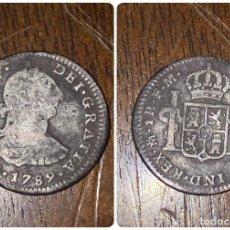 Monedas de España: MONEDA. CARLOS IV. 1 REAL. MEJICO FM. 1789. VER FOTOS. Lote 198684471