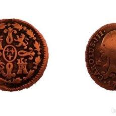 Monedas de España: MONEDA CARLOS III 1 MARAVEDIS COBRE AÑO 1778 DG CECA-SEGOVIA. Lote 199317635