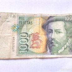 Monedas de España: 1000 PESETAS HERNAN CORTES 1992. Lote 199401883