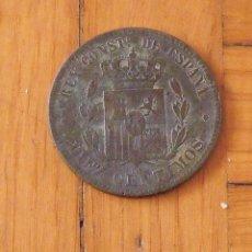 Monedas de España: DIEZ CÉNTIMOS. 10. COBRE. ALFONSO XII. 1878. 3 CM. BUEN ESTADO CON SIGNOS DE LA EDAD. . Lote 199760545