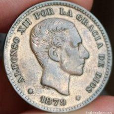Monedas de España: 5 CÉNTIMOS 1879 ALFONSO XII.MBC+. Lote 199810512