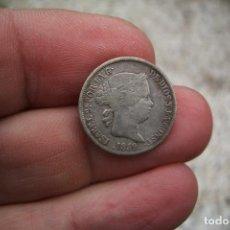 Monedas de España: ISABEL II 2 REALES 1859 MADRID. Lote 199849772