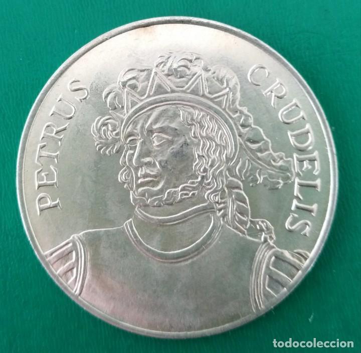MONEDA DE PLATA PEDRO EL CRUEL MUY ESCASA. SPAIN SILVER COIN (Numismática - España Modernas y Contemporáneas - De Reyes Católicos (1.474) a Fernando VII (1.833))
