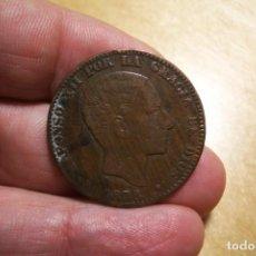 Monedas de España: 10 CENTIMOS 1878 FALSA DE EPOCA BONITA Y MUY INTERESANTE. Lote 201356343