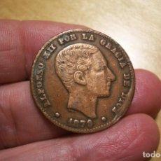 Monedas de España: 10 CENTIMOS 1879 FALSA DE EPOCA BONITA Y MUY INTERESANTE. Lote 201356406