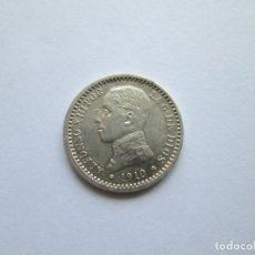 Monedas de España: ALFONSO XIII * 50 CENTIMOS 1910*10 PC V * PLATA SC. Lote 201496500