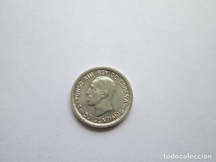 ALFONSO XIII * 50 CENTIMOS 1926 PC S * S/C PLATA (Numismática - España Modernas y Contemporáneas - De Isabel II (1.834) a Alfonso XIII (1.931))