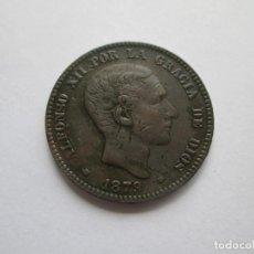 Monedas de España: ALFONSO XII * 10 CENTIMOS 1879 OM BARCELONA. Lote 201499186