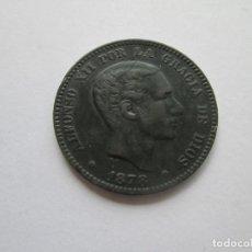 Monete da Spagna: ALFONSO XII * 10 CENTIMOS 1878 OM BARCELONA. Lote 201499321