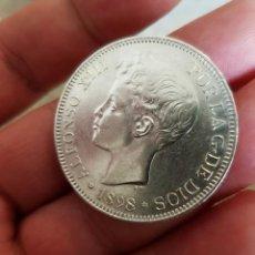 Monedas de España: ALFONSO XIII 5 PESETAS 1898 ESTRELLAS 18-98 SG V REFE 3064. Lote 200763605