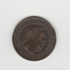 Monedas de España: CARLOS VII- 10 CENTIMOS DE PESETA- 1875. Lote 201807756