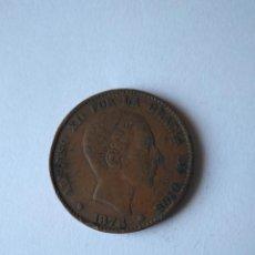 Monedas de España: MONEDA 10 CÉNTIMOS ALFONSO XII ESPAÑA AÑO 1878 CECA BARCELONA COBRE. Lote 201902181
