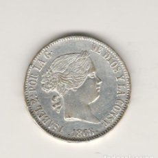 Monedas de España: ISABEL II- 1 ESCUDO- 1868- MADRID-FALSA DE EPOCA. Lote 201935630
