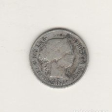 Monedas de España: ISABEL II- 40 CENTIMOS DE ESCUDO- 1868-MADRID. Lote 201935977