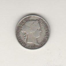 Monedas de España: ISABEL II- 40 CENTIMOS DE ESCUDO- 1868-MADRID. Lote 201936075