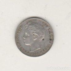 Monedas de España: ALFONSO XIII- 1 PESETA- 1900*19-00 SMV. Lote 202030143