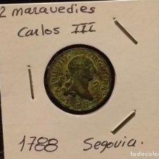 Monedas de España: CARLOS III - 1788 CECA SEGOVIA - MBC.. Lote 202363571