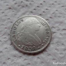 Monedas de España: 2 REALES CARLOS IV AÑO 1808 SEVILLA PLATA.. Lote 203047125