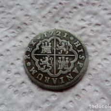 Monedas de España: 2 REALES FELIPE V AÑO 1721 MADRID PLATA.. Lote 203047533