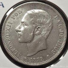 Monete da Spagna: 1879 *79 ESPAÑA - 2 PESETAS - ALFONSO XII - EMM - EBC- PLATA. Lote 203366763