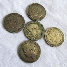 Monete da Spagna: 5 MONEDAS DE PLATA, 1900, ALFONSO XIII. Lote 203371442