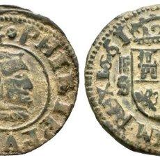 Monedas de España: FELIPE IV (1621-1665). 8 MARAVEDÍS. 1661. SEGOVIA. S. AE. 1,83 G. EBC.. Lote 204315283