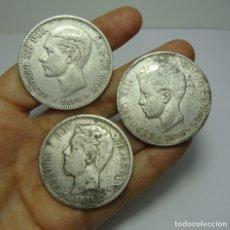 Monedas de España: LOTE DE MONEDAS ESPAÑOLAS. TODAS DE PLATA.. Lote 204339378