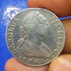 Monedas de España: CARLOS III 4 REALES 1788 CECA MADRID MM ORIGINAL RARISIMA OPORTUNIDAD UNICA REPITO RARISIMA ASI. Lote 204553718