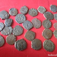 Monedas de España: LOTE DE 25 DINEROS DE FELIPE V ACUÑADOS EN ZARAGOZA. Lote 204699657