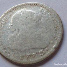 Monedas de España: MONEDA DE PLATA DE 1 REAL DE CARLOS III DE 1773, CECA DE SEVILLA, ENSAYADORES C F , ESCASA. Lote 204994292