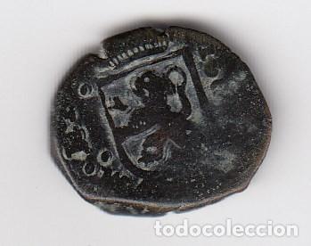 Monedas de España: escasa moneda felipe II cuartillo - 8 1/2 maravedis ( vellón) 1566 ceca por definir. mbc - Foto 2 - 205129675