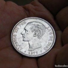Monedas de España: ALFONSO XII MONEDA DE 5 PESETAS 1877*1877 PLATA. Lote 205327167