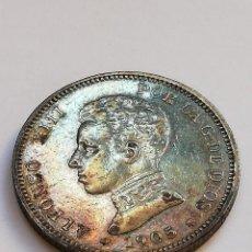 Monedas de España: 2 PESETAS AÑO 1905 PLATA ALFONSO XIII. Lote 205688433