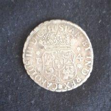 Monedas de España: MUY ESCASOS 4 REALES COLUMNARIO CARLOS III 100% ORIGINAL. Lote 205689156