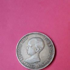 Monedas de España: ALFONSO XIII. 5 PESETAS.1889. Lote 205734543