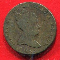 Monedas de España: ISABEL II - 8 MARAVEDIS 1836 JUBIA. Lote 205822697