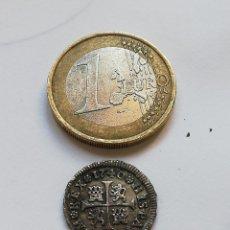 Monedas de España: MEDIO REAL DE 1740. Lote 205824065